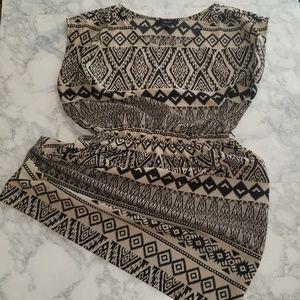 Forever21 Aztec Print Dress